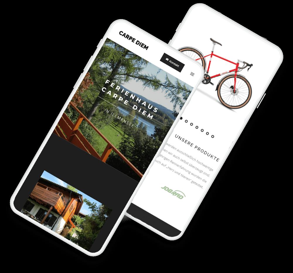 Webseite Design Projekt