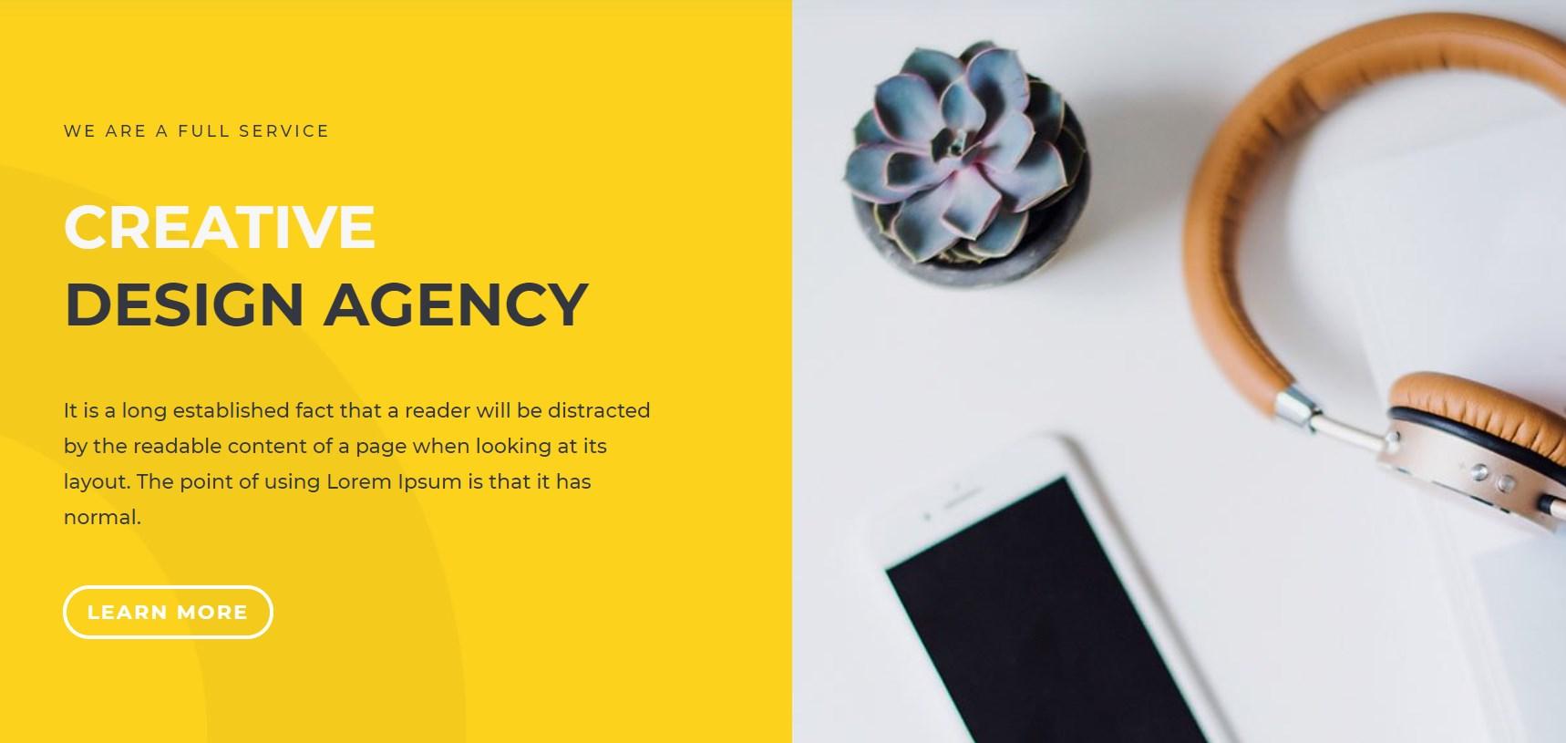 Design Agentur Vorlage