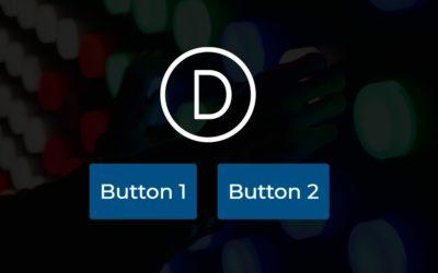 Divi Buttons nebeneinander platzieren