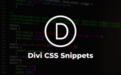 Useful Divi CSS snippets for every project