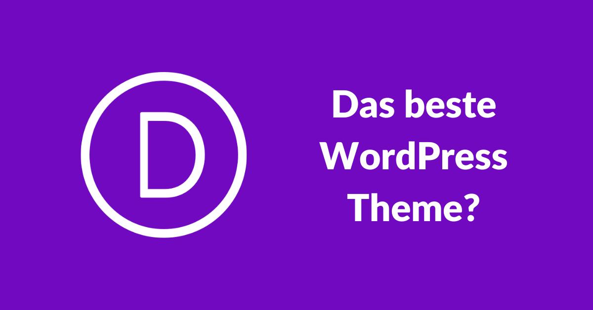 Divi Theme das beste WordPress Theme