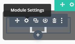 Module Settings Divi