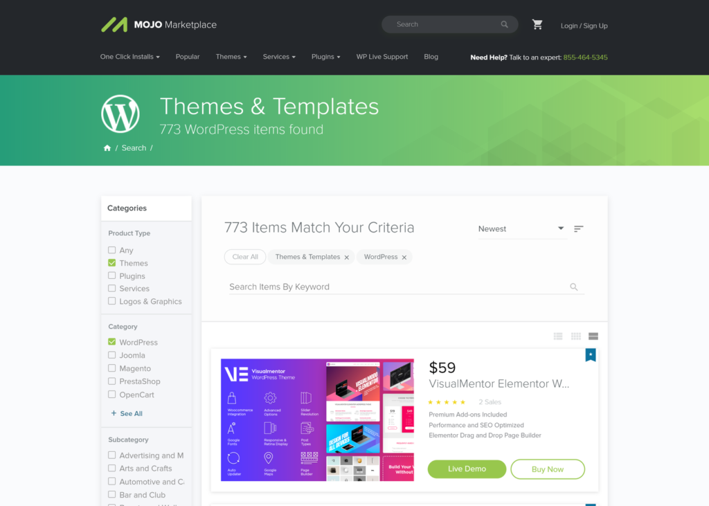 Mojo Marketplace Themeforest Alternative