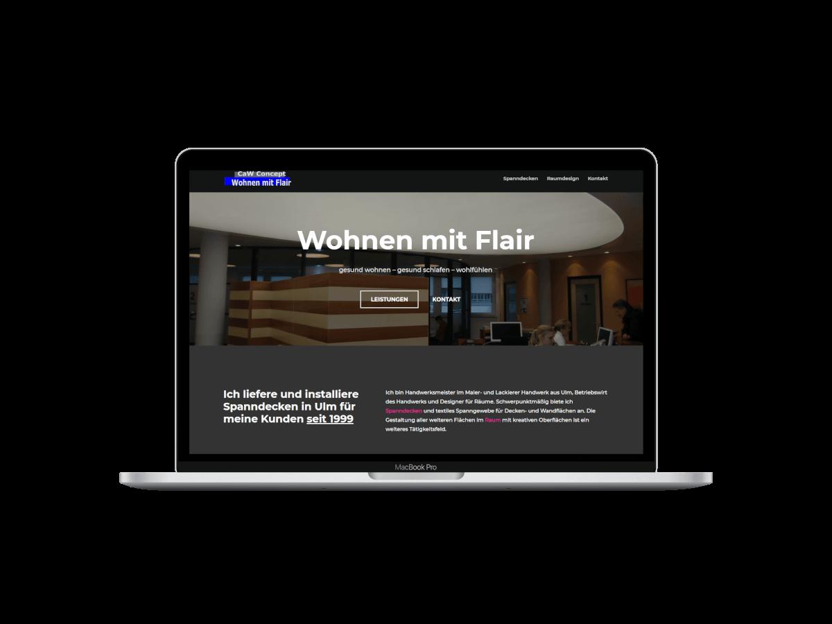 Webdesign Wohnen mit Flair