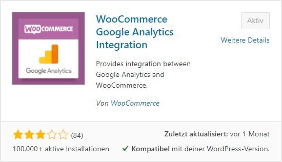 WooCommerce Google Analytics Integration Plugin 1