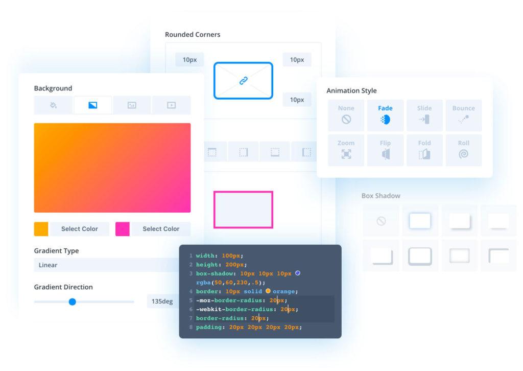 divi user interface
