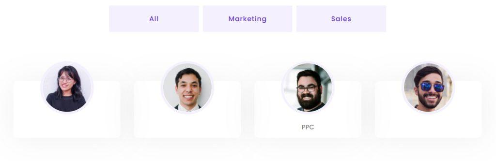 team member images
