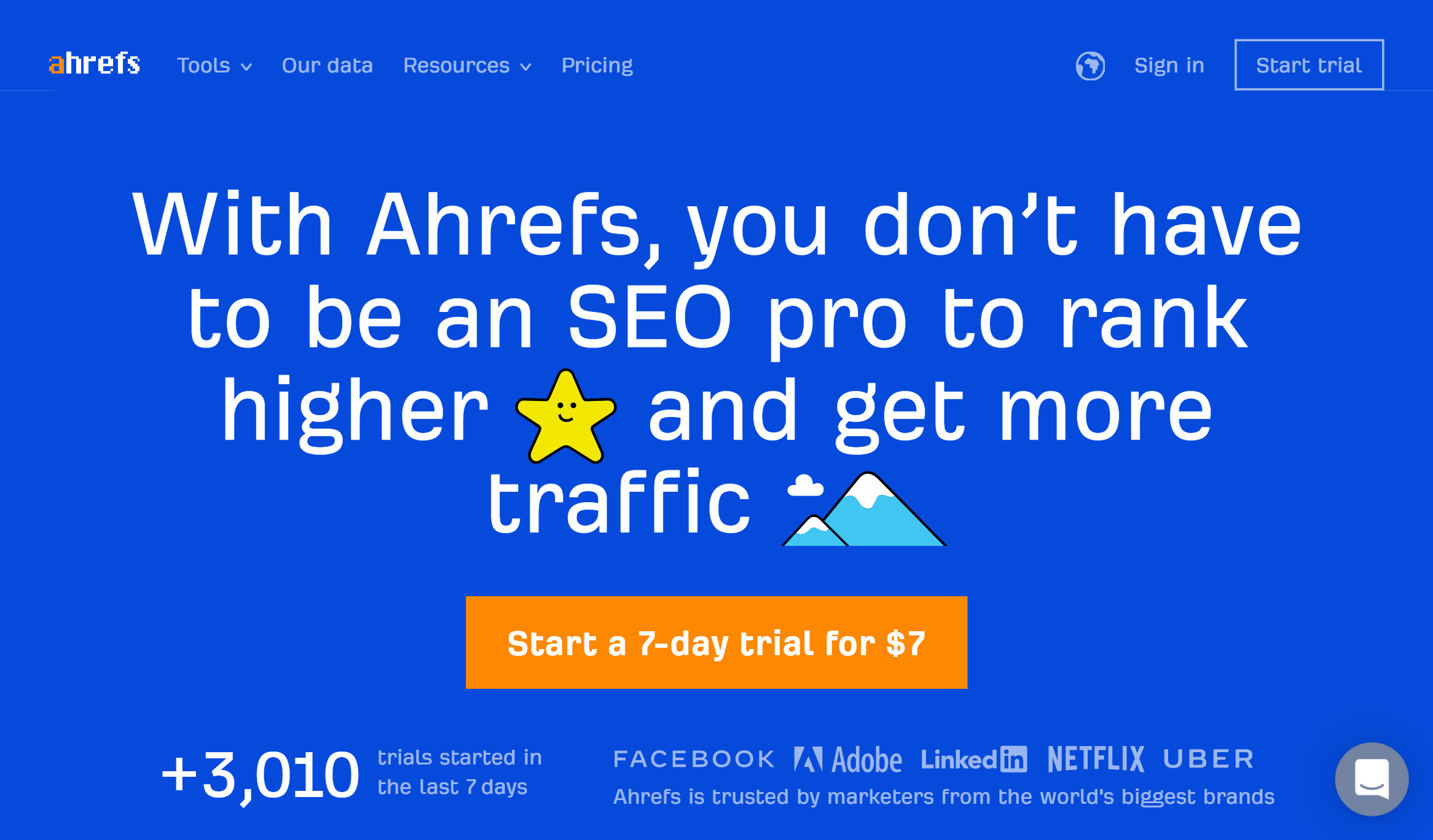 Ubersuggest alternative Ahrefs