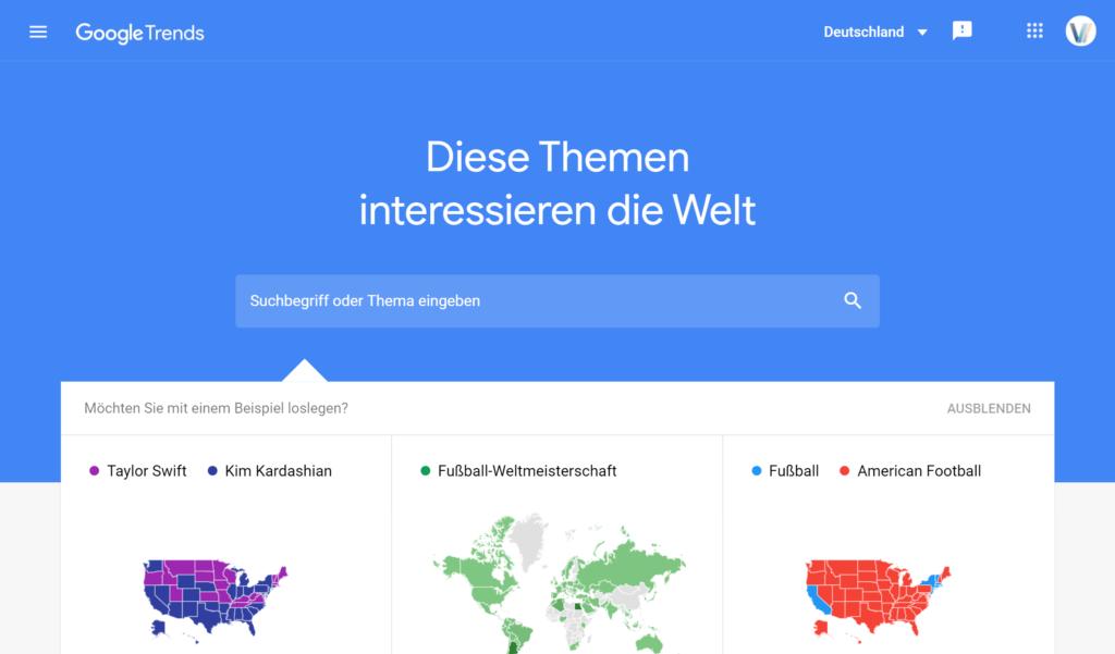 ubersuggest alternative google trends